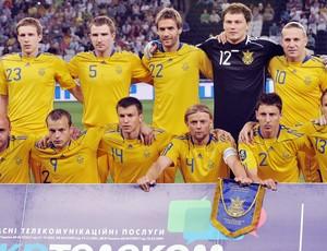Ucrânia Seleção Euro - 06/06/11 (Foto: agência AFP)