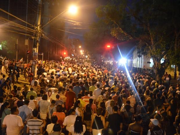Círio de Nazaré Acre (Foto: Yuri Marcel/G1)