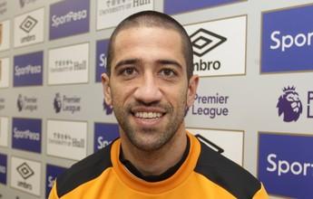 Evandro realiza sonho na Inglaterra  e confia na recuperação do Hull City