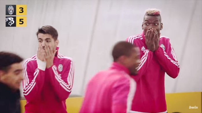 Morata Pogba Juventus desafio Rei dos Dribles