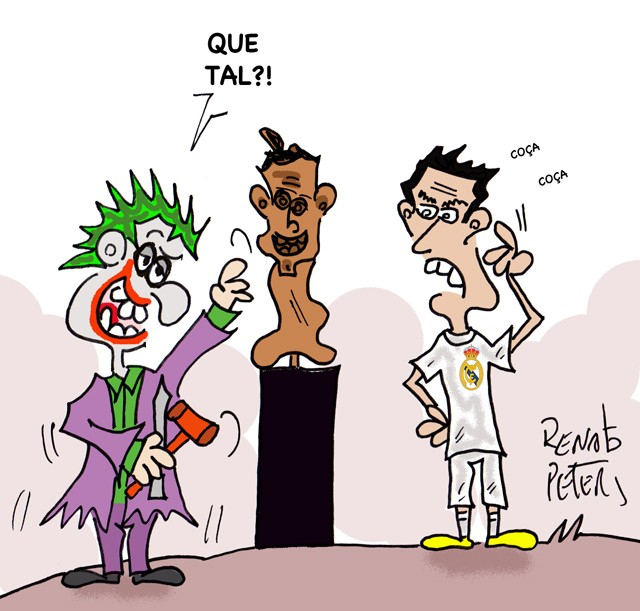 BLOG: Busto do CR7