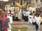 Procissão de Corpus Christi toma conta das ruas de Minas Gerais