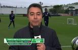 De improviso, Marco Aurélio Souza mostra habilidade com a bola nos pés