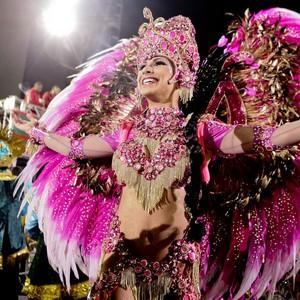 Veja fotos do desfile das campeãs  no Anhembi, em São Paulo (Caio Kenji/G1)