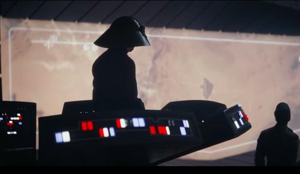 Os botões gigantes e luminosos voltam em 'Rogue One' (Foto: Reprodução)