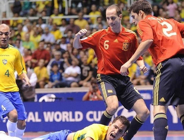 Brasil Espanha Mundial 2008 (Foto: Divulgação/Fifa)