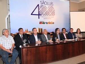Divulgada a programação festiva dos 400 anos de São Luís (Foto: Divulgação)