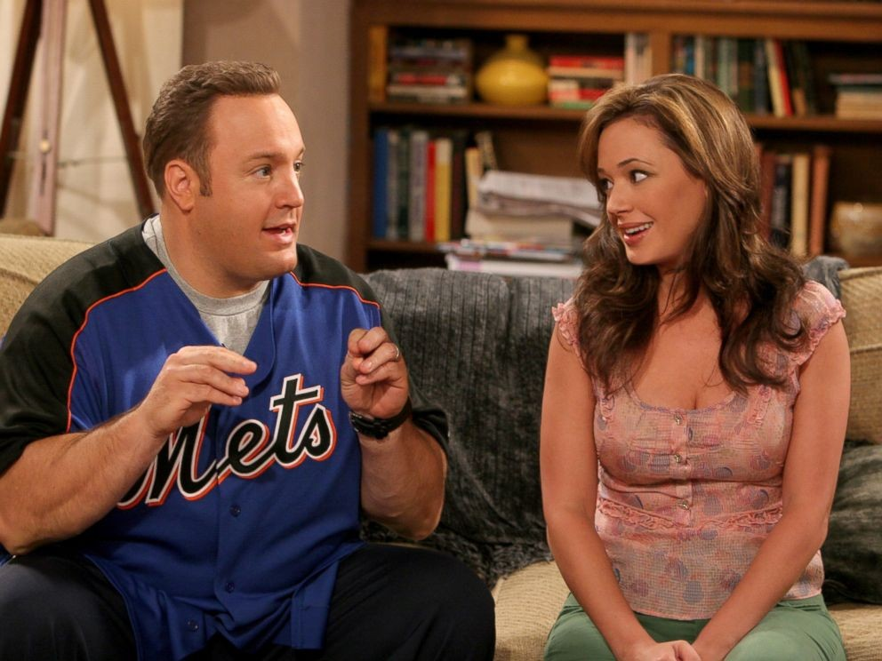 Kevin James e Leah Remini em 'The King of Queens' (Foto: Divulgação)