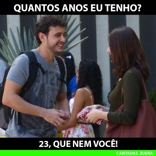 Esse é muito zuera hein, Nélio? (Foto: Malhação / TV Globo)