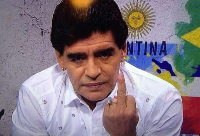 Maradona  (Foto: Reprodução)