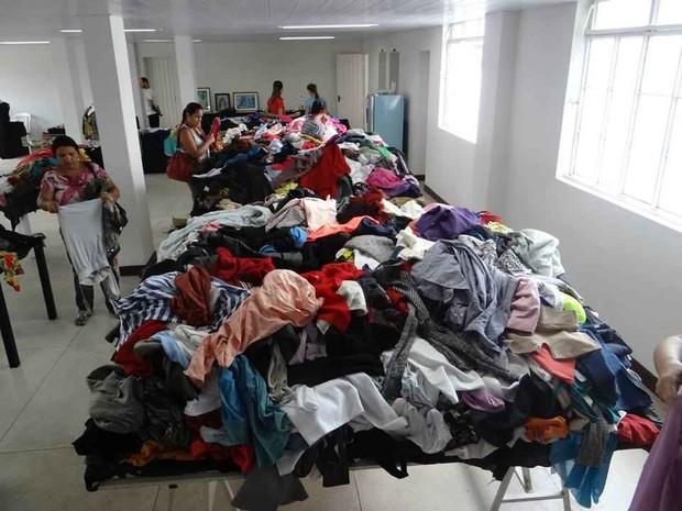Bazar solidário é uma das atrações (Foto: PMC/Divulgação)