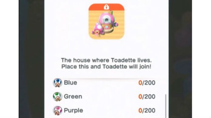 Super Mario Run: Toadette custa centenas de Toads. Acumele-os no modo Toad Rally (Foto: Reprodução / Thomas Schulze)