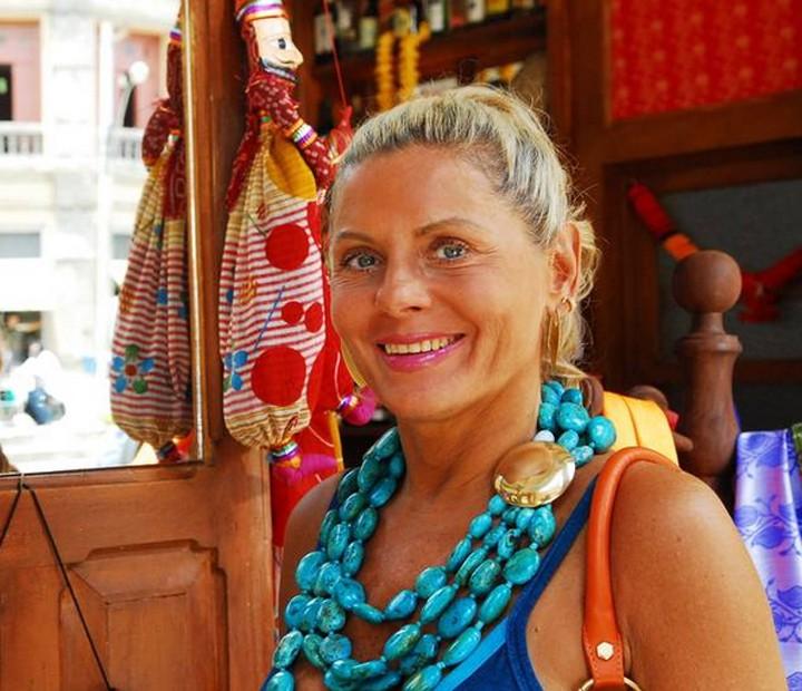 Em Caminho das Índias, Vera Fischer era a empresária Chiara (Foto: Cedoc / TV Globo)