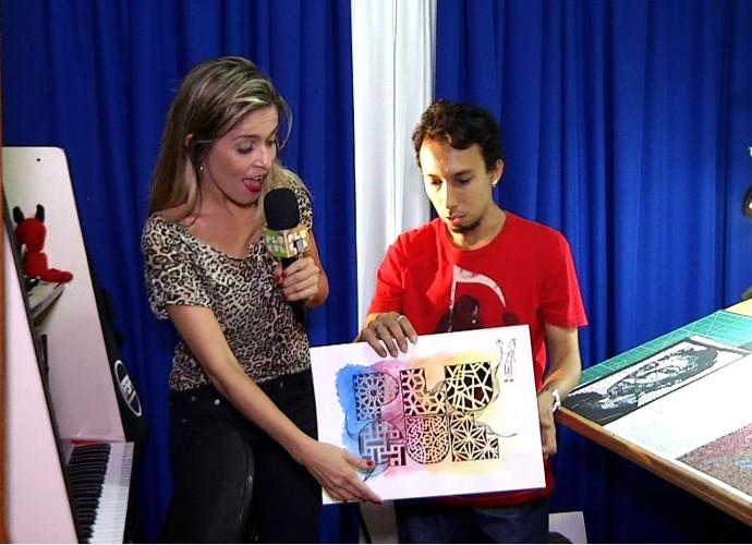 Diana Sabadini conheceu o talento do Thiago Fernandes (Foto: Plugue)