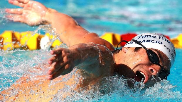 Kaio Marcio natação Trofeu Jose Finkel (Foto: Satiro Sodré / Agif)