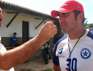 Paulo Moroni, técnico do Parnahyba (Foto: Renneé C. Fontenele/Portalazulino)