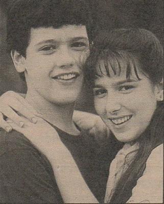 Renata e Danton Mello fizeram par em Tieta, que está sendo reprisada no canal Viva (Foto: Reprodução/ TV Globo)