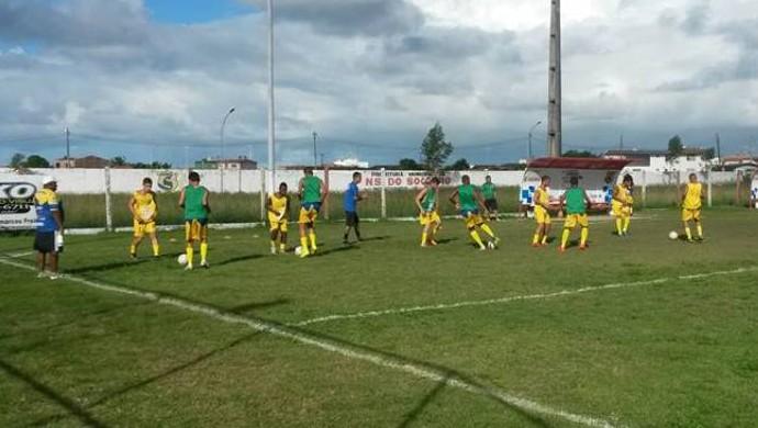 Socorrense, treino, sub-19, sergipano sub-19 (Foto: Reprodução / FSF)