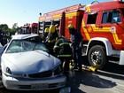 Idoso de 75 anos morre em acidente na BR-282 na Grande Florianópolis