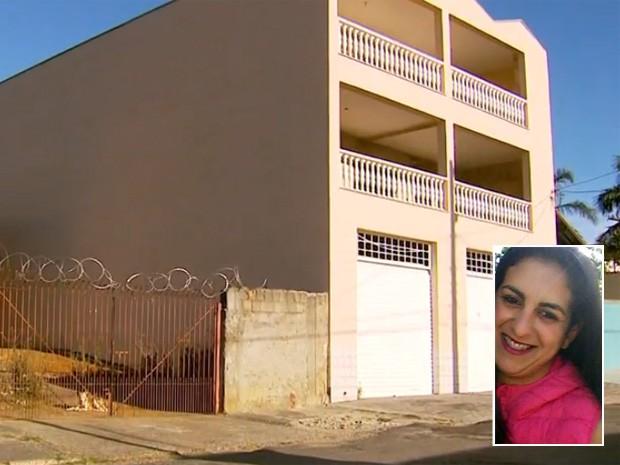 Marido teria tentado incendiar casa onde morava com a esposa em Poços de Caldas (Foto: Reprodução EPTV)