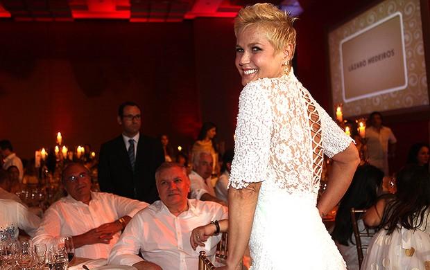 Xuxa em evento beneficente em São Paulo (Foto: Iwi Onodera/ EGO)