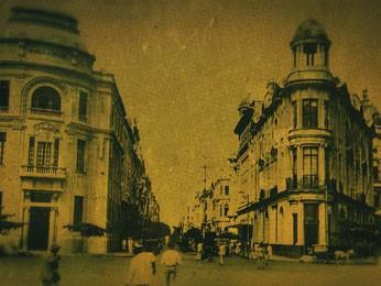 O Recife se modificou bastante com o crescimento populacional (Foto: Reprodução / TV Globo)