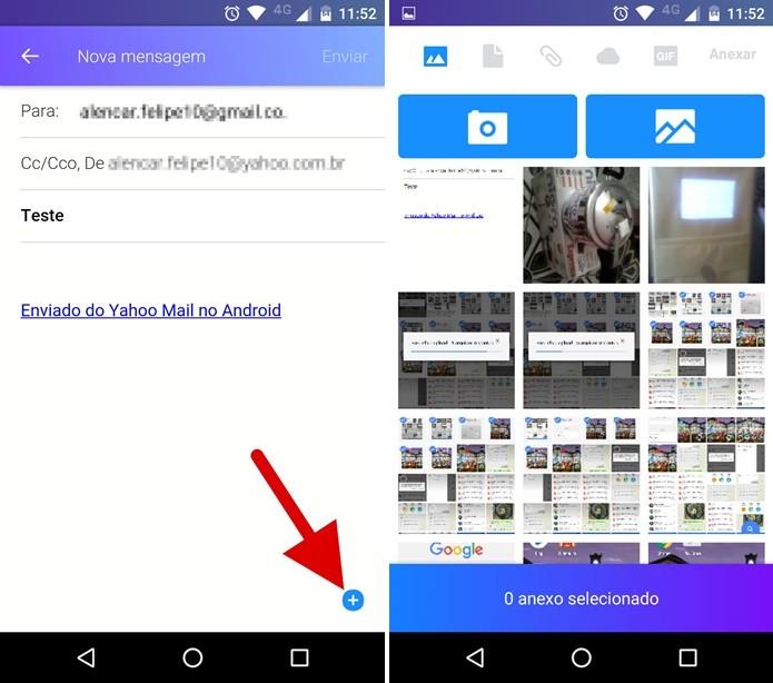 Yahoo! Mail: como enviar arquivos do Dropbox ou Google Drive