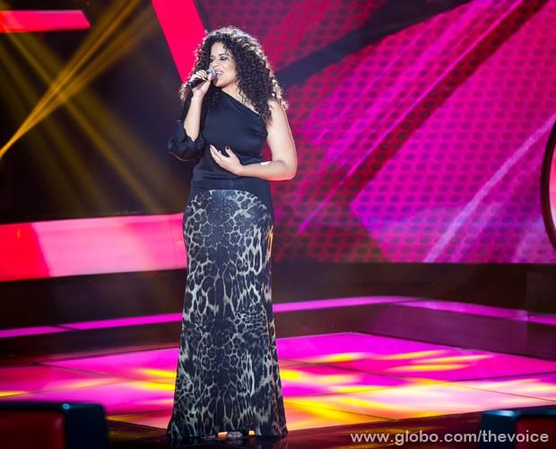 """Ana Lonardi interpreta """"Explode Coração"""", de Gonzaguinha (Foto: Isabella Pinheiro/TV Globo)"""