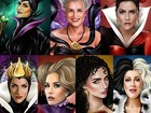 Ilustrador transforma famosas brasileiras em vilãs da Disney