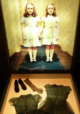 """Figurinho do filme """"O Iluminado"""", em mostra de Kubrick na Bélgica (Foto: Getty Images)"""