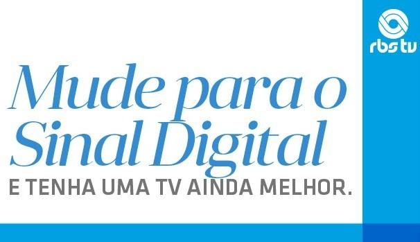 Campanha tv digital rbs tv (Foto: Divulgação/RBS TV)