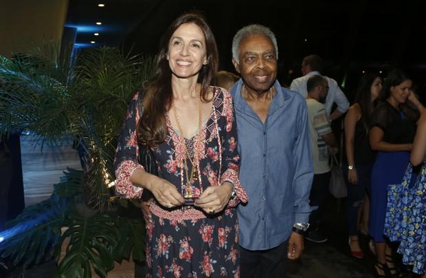 Gilberto e Flora Gil (Foto: Marcos Serra Lima / Ego)