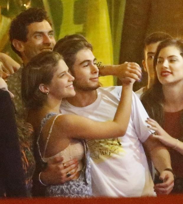 Isabella Santoni e Rafael Vitti, elenco comemora o último capitulo de Malhação  (Foto: AgNews / AgNews)