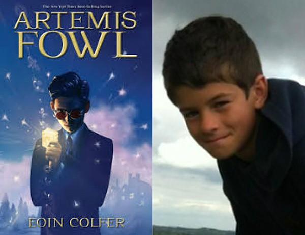 Artemis Fowl (livro) e Ferdia Shaw (Foto: Divulgação)