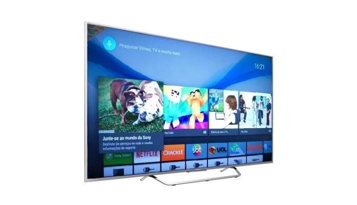 Smart Tv da Sony vem com processador interno e sistema Android (Foto: Divulgação/Sony)
