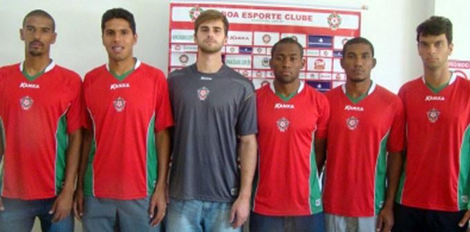 Boa Esporte anuncia pacotão com 6 reforços (Foto: Assessoria de Imprensa boa Esporte)