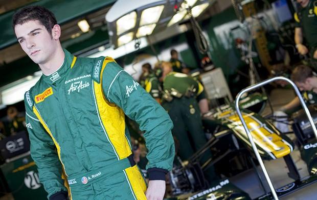 Americano Alexander Rossi testará Caterham na Espanha (Foto: Divulgação)
