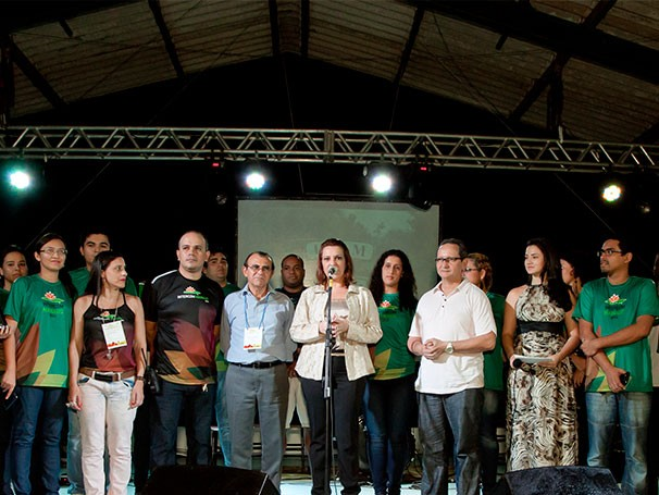 Cerimônia de entrega do Prêmio Luiz Beltrão 2013 (Foto: Divulgação/Daisy Camargo)