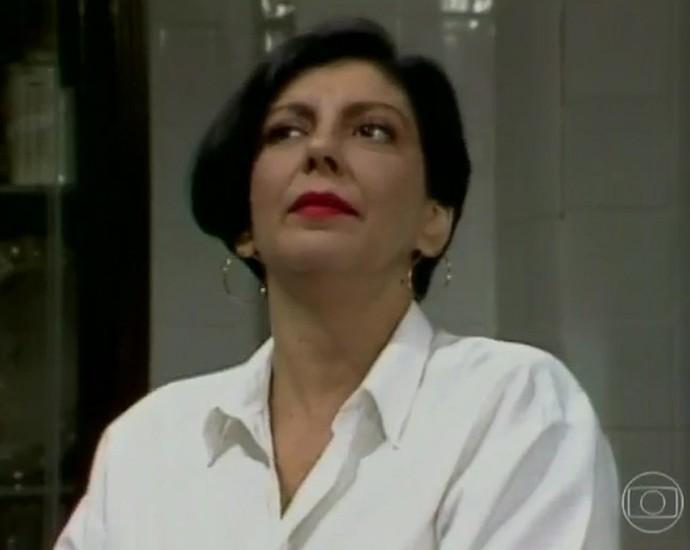 Rafaela foi uma personagem marcante para Marília Pêra em Brega e Chique (Foto: TV Globo)