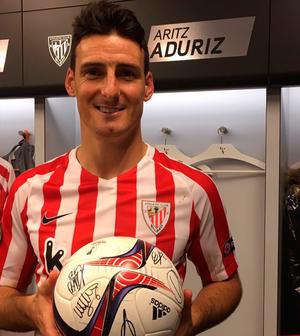 Aduriz - Athletic Bilbao (Foto: Reprodução/Twitter)