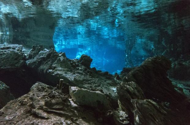 Maior caverna submersa do mundo é descoberta no México (Foto: Mal B/Reprodução Flickr)
