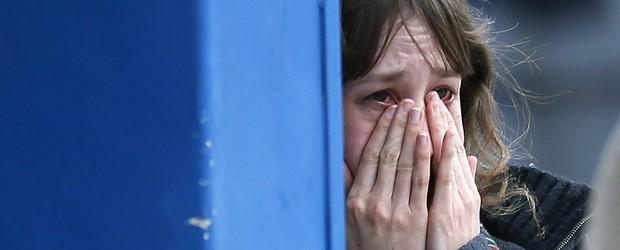 Encontrada uma caixa-preta do avião que  caiu na França e matou 150 pessoas (Albert Gea/Reuters)