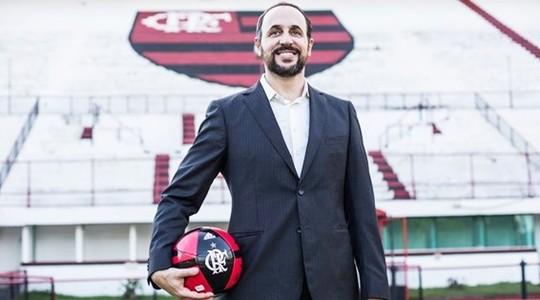 Cláudio Pracownik, vice de finanças do Flamengo (Foto: Divulgação)