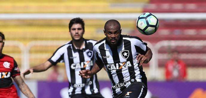 Airton Botafogo lesão Flamengo (Foto: Satiro Sodré / SSpress / Botafogo)