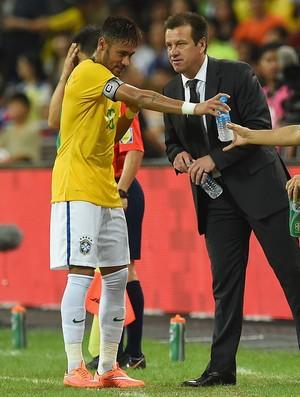 neymar dunga brasil x japão (Foto: Getty Images)