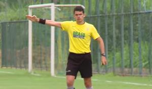Árbitro Paulo Henrique Salmazio participa de curso da Fifa (Foto: Reprodução/CBF)