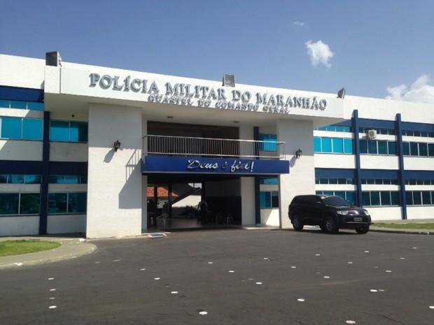 Quartel do Comando Geral da Polícia Militar do Maranhão, em São Luís (Foto: Clarissa Carramilo / G1)