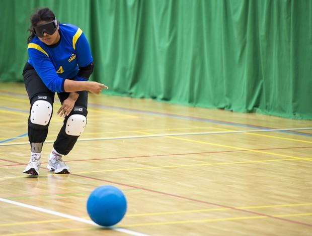 Potiguar Denise Daniele integra a seleção brasileira de goalball nas Paralimpíadas (Foto: Buda Mendes/CPB/Divulgação)
