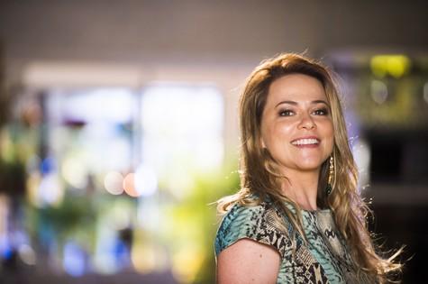 Vivianne Pasmanter será Shirley em 'Em família' (Foto: Globo/João Miguel Júnior)