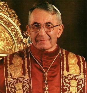Papa João Paulo I (Foto: Wikimedia Commons)